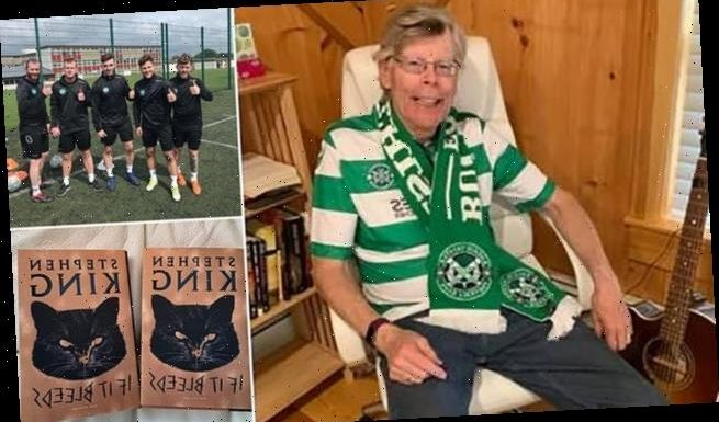 Stephen King features football team Buckie Thistle in new novella