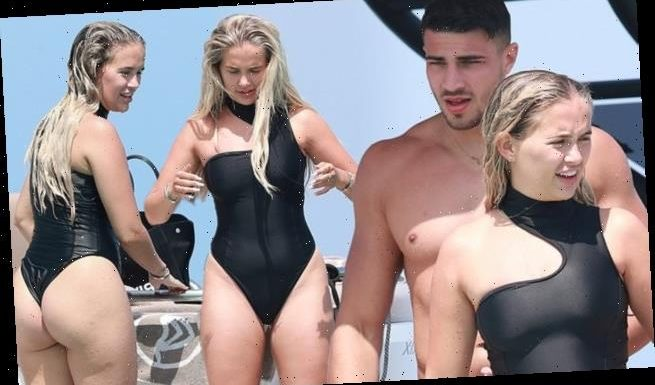 Molly-Mae Hague and Tommy Fury enjoy a private yacht day in Ibiza