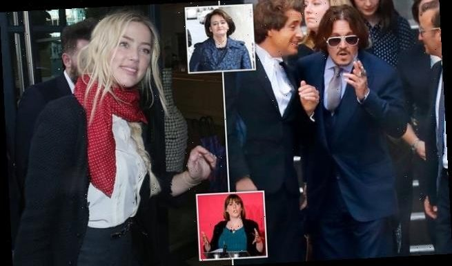 Feminists Cherie Blair and Jess Phillips rally behind Amber Heard