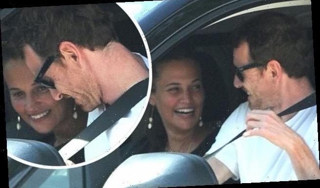 Alicia Vikander enjoys a rare outing with husband Michael Fassbender