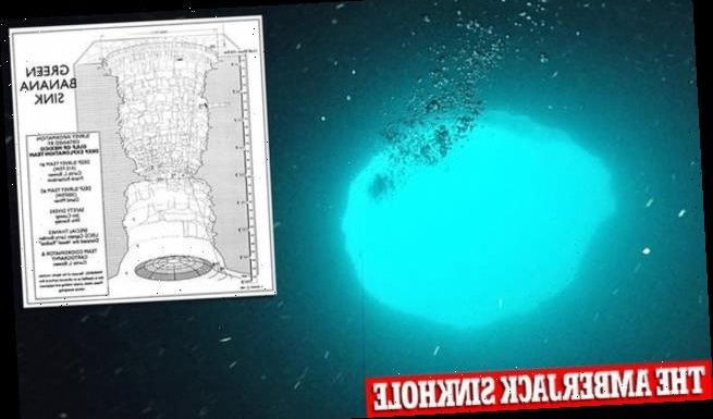 Experts to explore 425-foot underwater sinkhole called 'Green Banana'