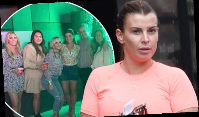 Coleen Rooney steps out after deleting party snap with friends
