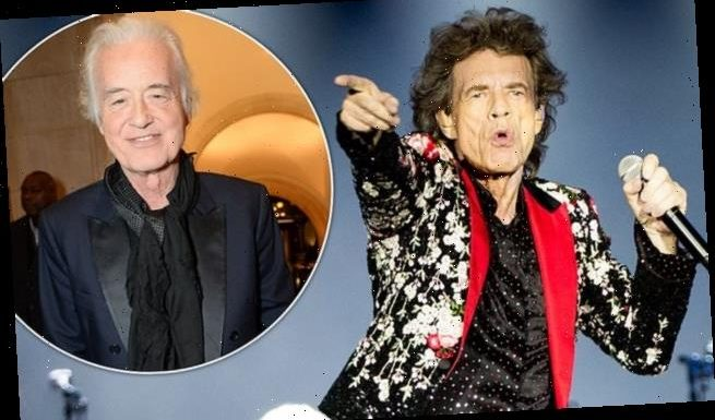 The Rolling Stones release unheard track recorded with Jimmy Page