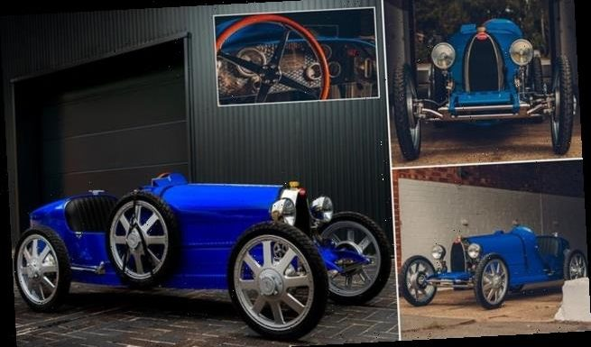 Bugatti's 'Baby II' is a 75% replica of the 1920s Type 35 racer
