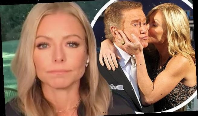 Kelly Ripa tears up as she recalls learning about Regis Philbin