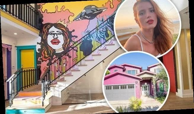 Bella Thorne puts her hot pink house on the market for 2.55M