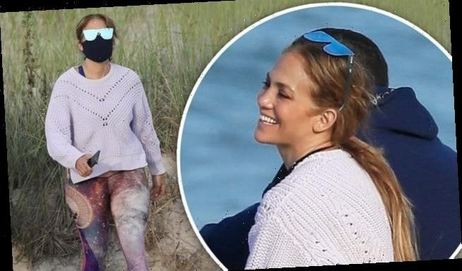 Jennifer Lopez celebrates her 51st birthday with family at the beach