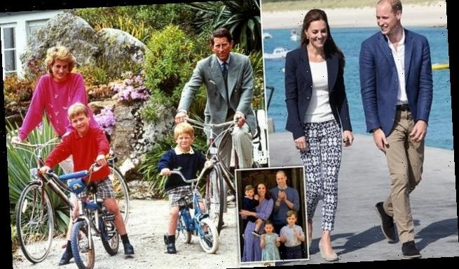 Prince William whisks family away to holiday spot on Isles of Scilly