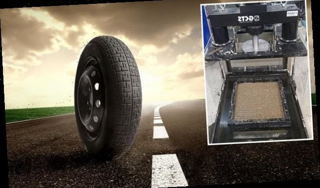 Old tyres and building rubble could be used to make sustainable roads