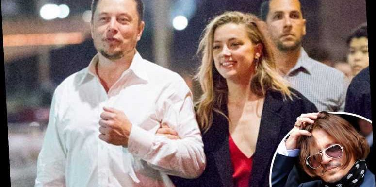 Elon Musk 'regularly' sneaked into Amber Heard and Johnny Depp's LA penthouse and had his own KEY