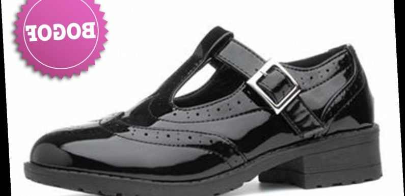 Shoezone is having a buy one get one free offer on back to school shoes but you'll have to be quick