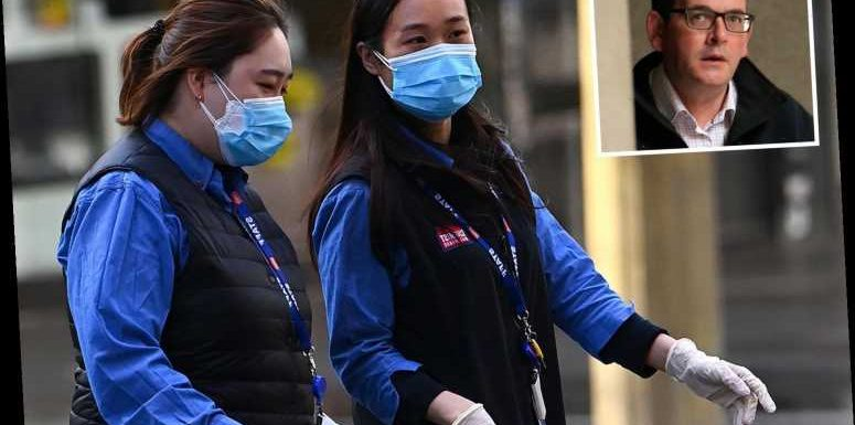 Brits' romps with guards at coronavirus quarantine hotels may be to blame for every case in massive Aussie spike
