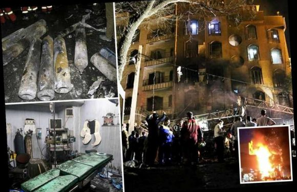 At least nineteen killed and six injured in huge explosion at medical clinic in Iranian capital Tehran