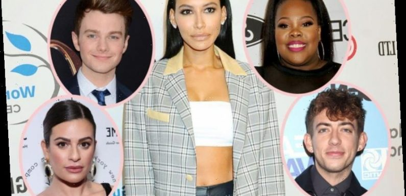 Naya Rivera's <i></noscript>Glee</i> Co-Stars Respond To Backlash For Their Social Media Silence, As Lea Michele De