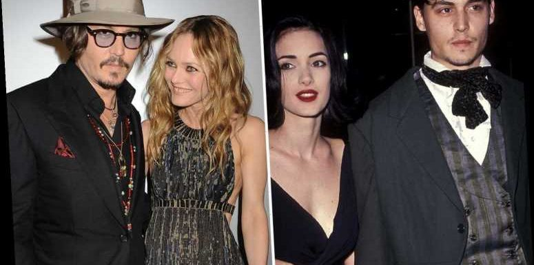 Winona Ryder and Vanessa Paradis say Johnny Depp was never violent to them – but won't face court