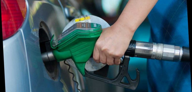 Fuel price shock as motorway service stations sell petrol for 111.9p a litre