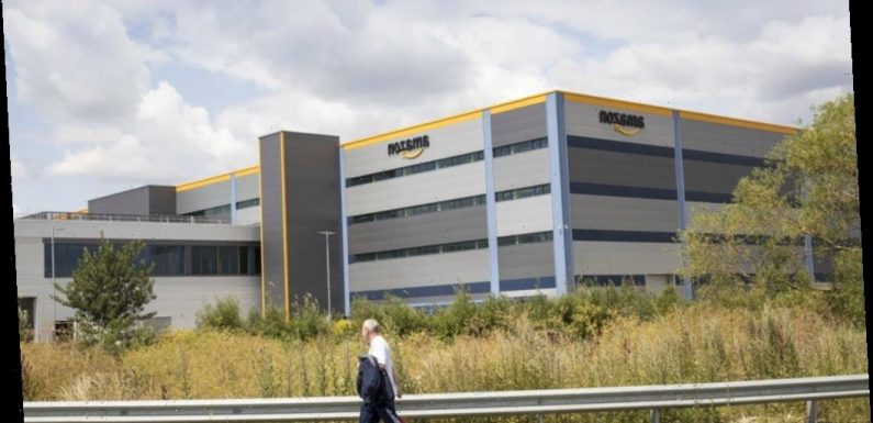 Man arrested for 'attempted murder' at Amazon warehouse as 'woman run over'