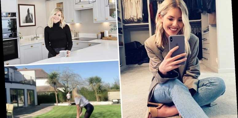 Inside Mollie King and Stuart Broad's stunning home with spotless walk-in wardrobe and huge garden