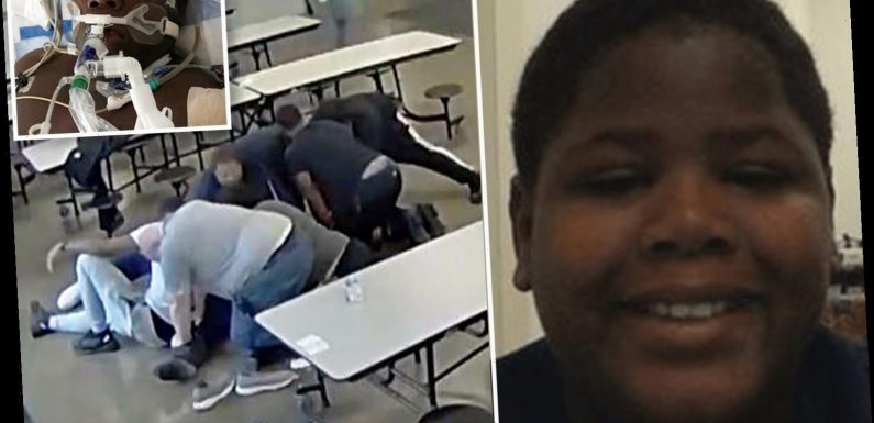 'Horrific' video shows 7 men restrain and SIT ON teen Cornelius Fredericks, who had a heart attack and died 2 days later – The Sun