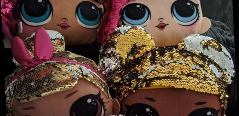 Poundland is selling LOL Surprise dolls head cushions for just a quid – and shoppers are buying them in bulk