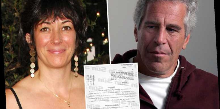 Ghislaine Maxwell demands Epstein pays her legal fees 'potentially taking money from victims SHE is accused of abusing'