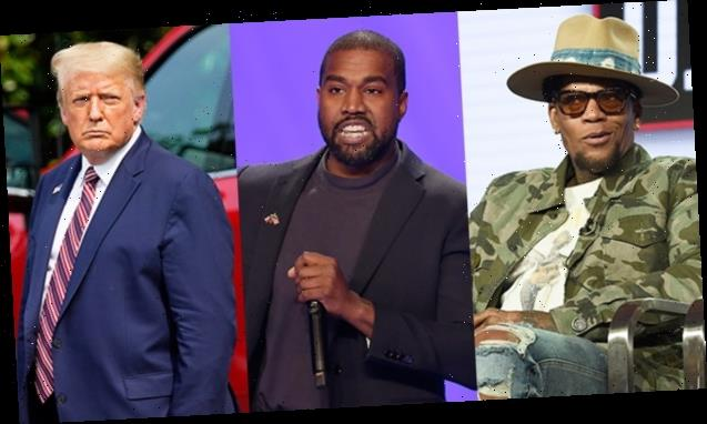 D.L. Hughley Shades Kanye West For Being The Same As Trump: 'They're Amoral Narcissists Who Don't Read'