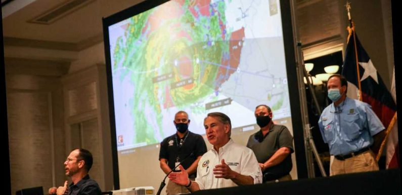 Disaster declaration issued as Hurricane Hanna touches down in Texas