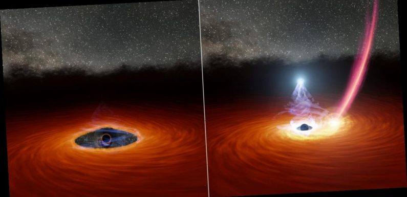 For the first time, astronomers have witnessed a black hole 'blink'