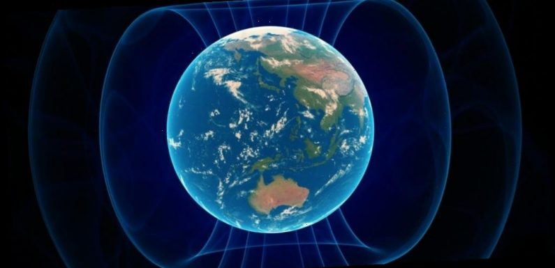 Earth's protective magnetic field may change direction 10 times faster than scientists previously thought, a new study shows