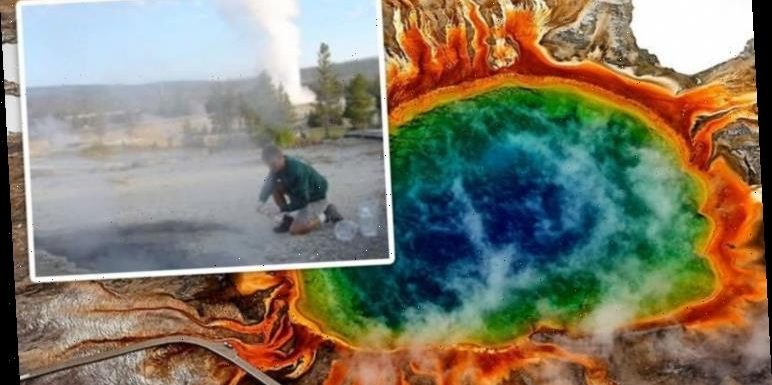 'Ground might blow up any minute' How huge Yellowstone earthquake put USGS on alert
