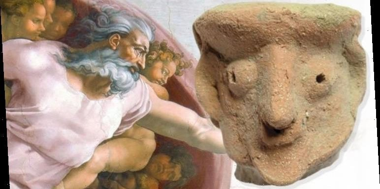 Archaeology bombshell: Is this the face of God? Researchers split over mystery clay idol