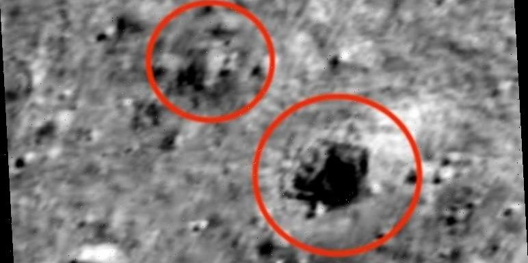 Giant UFO sighting: 45 mile-long alien base spotted on Moon in NASA pics – claim