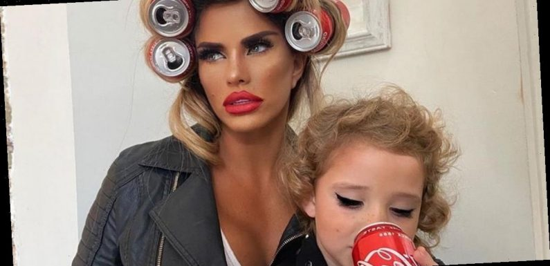 Katie Price parades curves in racy top but trolls target her over daughter Bunny