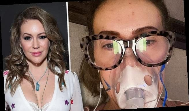 Alyssa Milano 'felt like she was dying' while suffering from COVID-19