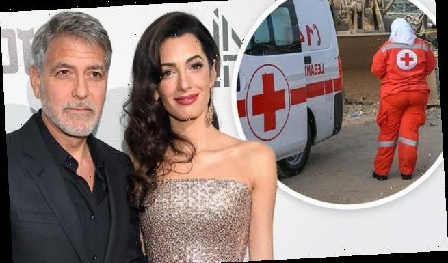 George and Amal Clooney donate $100K to Beirut charities after blast