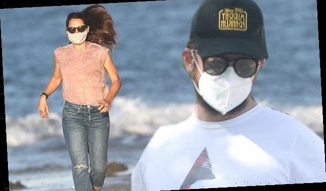 Bradley Cooper steps out after beach day with pal Jennifer Garner