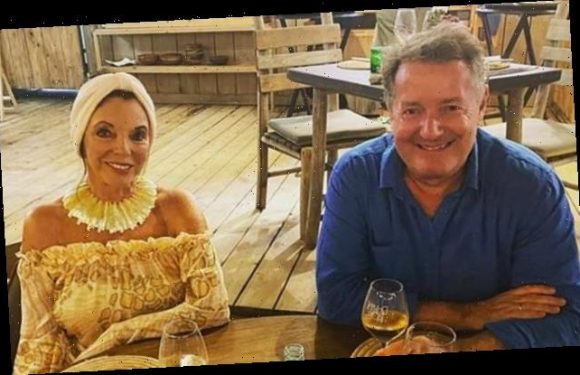 Piers Morgan shares sweet snap as he goes for dinner with Joan Collins