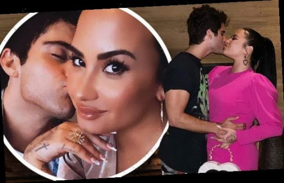 Demi Lovato posts gushing message marking 5 months with fiance Max