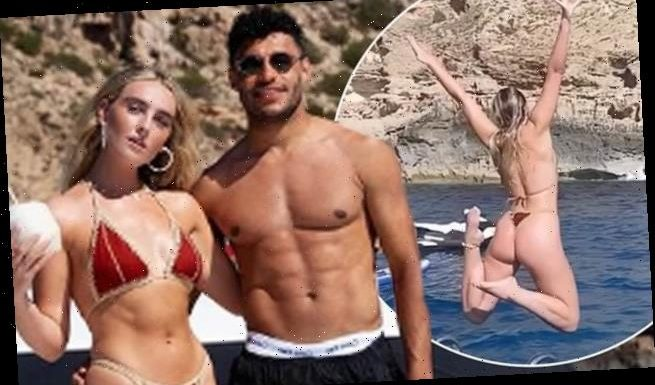 Perrie Edwards shares bikini snaps with beau Alex Oxlade-Chamberlain