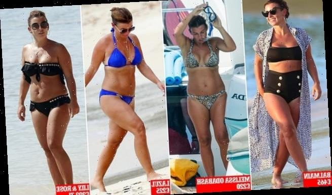Coleen's £2,000 swimwear wardrobe: A look at Rooney's beach looks