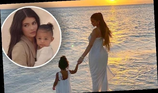 Kylie Jenner radiates glamour in stunning sunset photo with Stormi