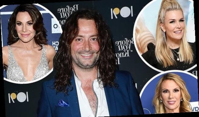 Constantine Maroulis confirms he hooked up with three RHONY stars