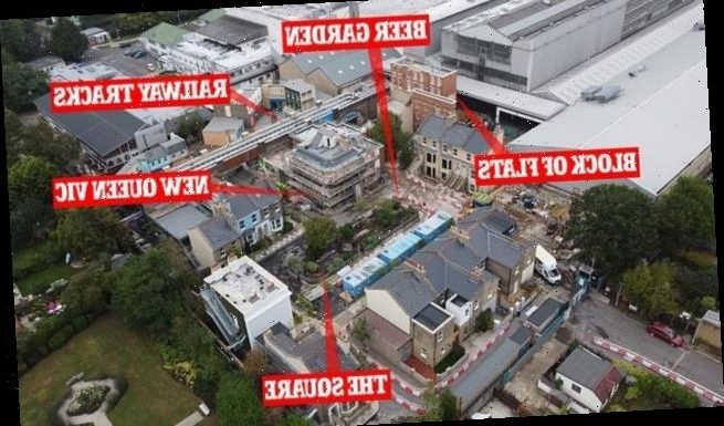 EastEnders' £87m set construction is almost complete