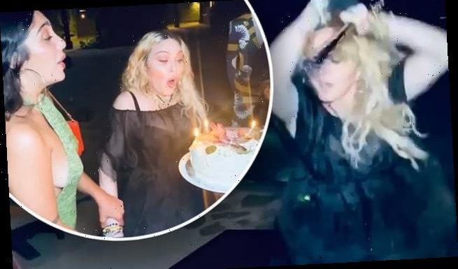 Madonna shares video from her mask-free 62nd birthday bash in Jamaica
