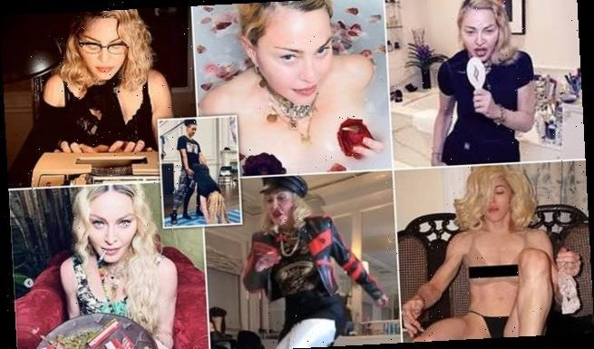 Madonna has resorted to desperate cries for attention during lockdown