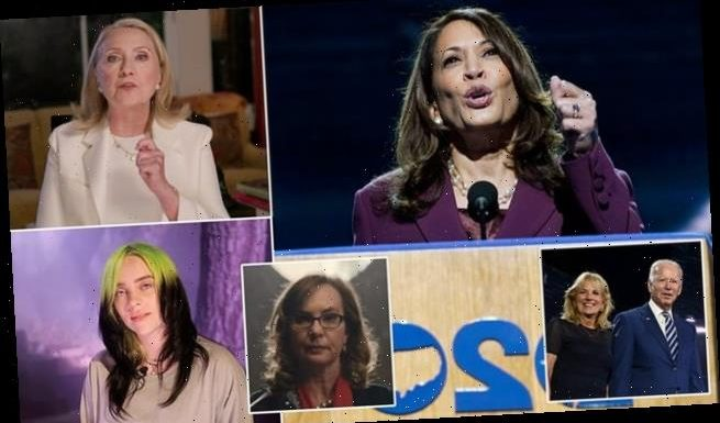 Harris opens third night of Democratic convention that put women first