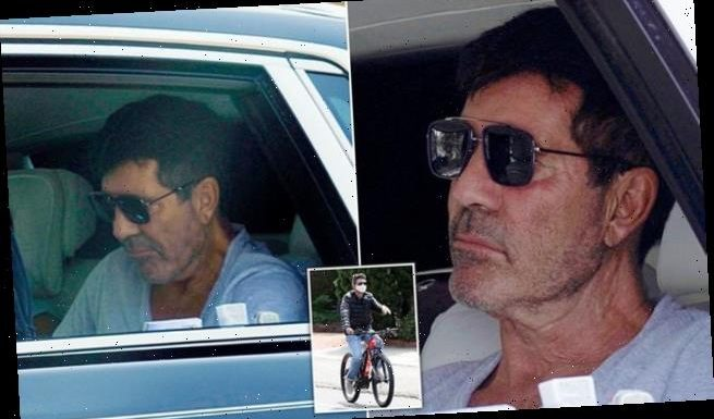 Simon Cowell seen for the first time since breaking his back