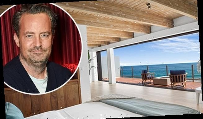 Matthew Perry puts beachfront Malibu pad on market for $14.95million