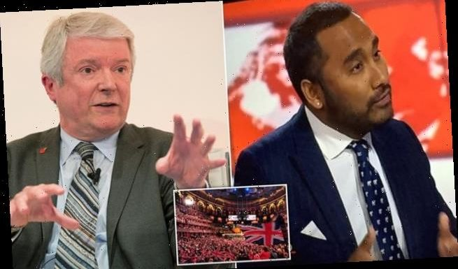 Lord Hall is asked about fears of BBC being 'broadcasting wing of BLM'