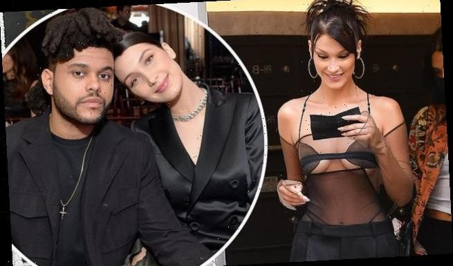 EXCL: Bella Hadid and ex The Weeknd reunite at MTV VMA rehearsals